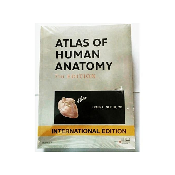 Jumia Books Atlas Of Human Anatomy 7th Edition By Frank H Netter Md