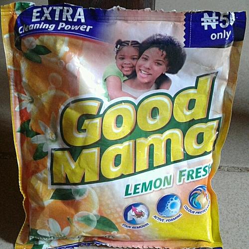 Lemon Fresh Cleaning Detergent - 70g × 48Pieces