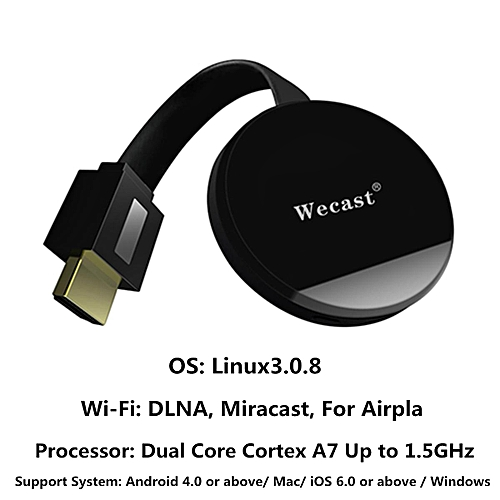 E68 HD Multimedia Interface Miracast Display Dongle DLNA Wecast For Android IOS