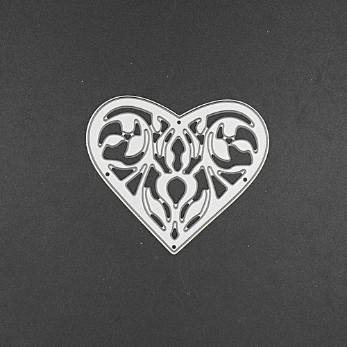 Dtrestocy New Flower Heart Metal Cutting Dies Stencils DIY Scrapbooking Album Paper Card