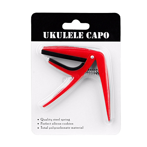 ABS Ukulele Capo Mini Guitar Modifier With Spring Action Clamp