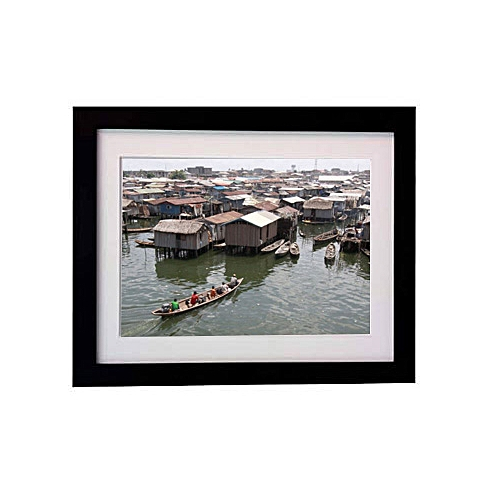 12 X 16 Inches Picture Frame Of Rare View Of Lagoon