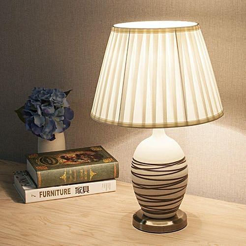 6'' To 20'' Fabric Box Pleat Lamp Shade Table Light Lampshade Mink Cream Ivoryr #260mm