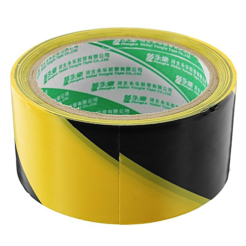 4.8cm*1.8m Warning Stripe Tape PVC Marking Tape 2 Colors