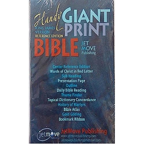 KJV Handy Giant Print Reference Edition