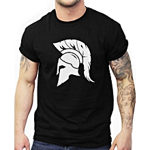 Mens Mma Training T Shirt Spartan Helmet Trojan Warrior Gym Workout for sale  Nigeria