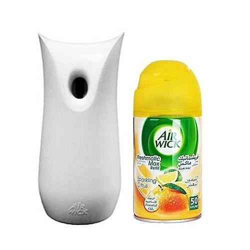 Air Freshner + Automatic Spray Engine (Sparkling Citrus) 250ml
