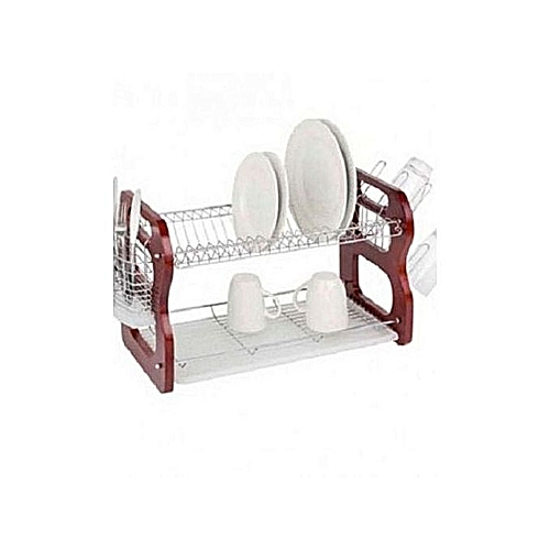 Plate Rack /Dish Drainer - 16 Inches