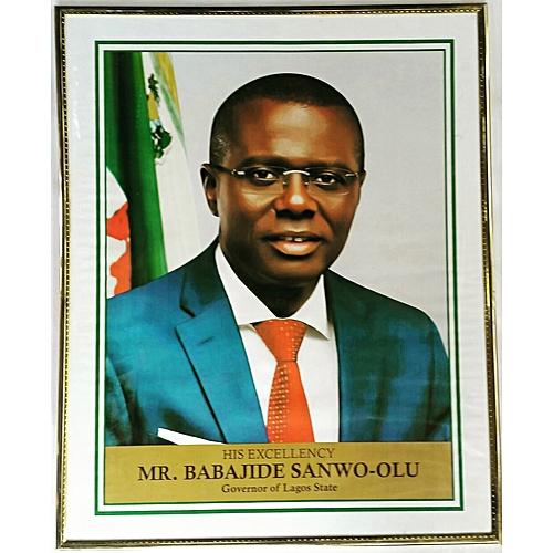 Lagos State Governor Portrait