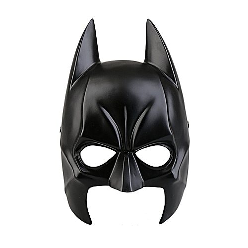Generic Halloween Batman Mask Masquerade Party Carnival Dressing Resin Upper Half Face Mask