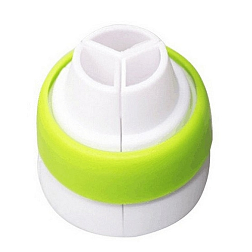 Icing Piping Nozzle Tricolor Converter Pastry Cream Cake Decorating Tools