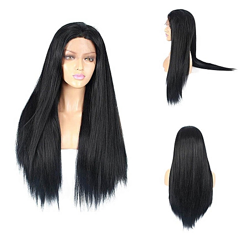 Life Diaries Light Yaki Straight Hair Wigs Lace Front Wigs Synthetic Wigs  For Women ae3d2ef26