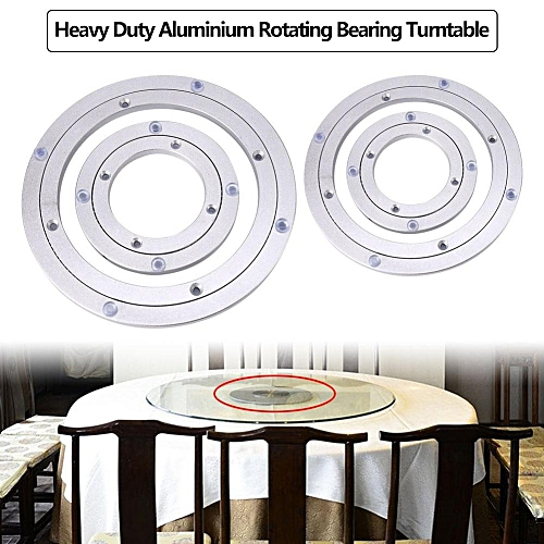 Heavy Duty Aluminium Alloy Rotating Bearing Turntable Round Table Smooth Swivel Plate 6 Inch