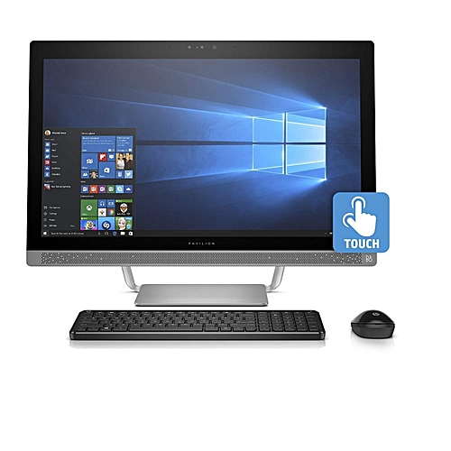 Pavilion 27 All-in-One Core I7 16GB 1TB 4GB NVIDIA Full HD Touch Windows 10 Silver