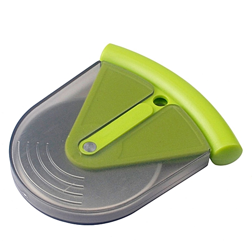 Plastic Handle Stainless Steel Pizza Wheel Round Pizza Cutter Kitchen Tool