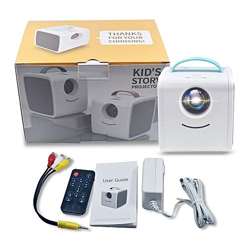 Salange Q2 MINI Projector 700 Lumens Children Education Children's Gift Parent-child Portable Projector Mini LED TV Home Beamer WOEDB