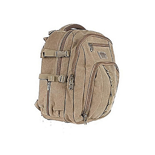 Strong Khaki Durable Laptop/School Bag