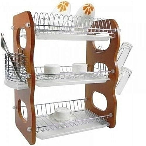 Plate Rack - 3 Layers