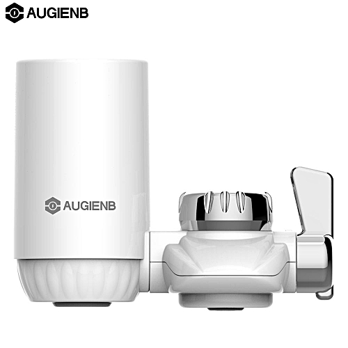 AUGIENB 528-Gallon 3-Stage Faucet Water Filter System 2.0L/min For Kitchen House - White