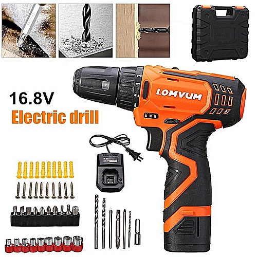 16.8V Lithium Rechargeable Hand Drill Electric Screwdriver