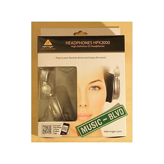 d37f267789f Behringer HPX2000 Headphones High-Definition DJ/Studio Headphones ...