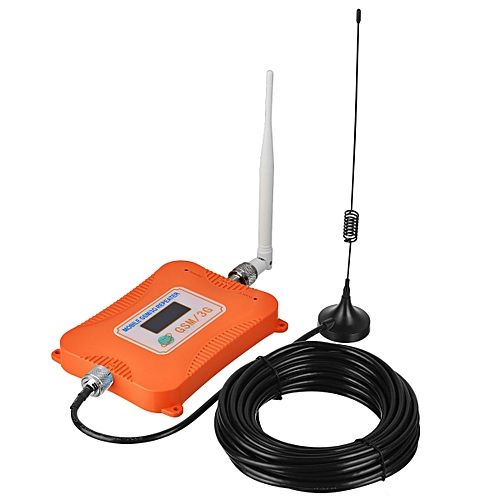 118d66a46621b8 Generic 2G 3G 4G 900/2100MHz GSM WCDMA Signal Booster For Mobile Phone  -Orange