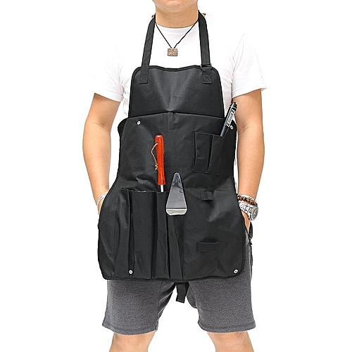 KCASA KC-AP01 Multi-function Barbecue Grill Master Apron Seasoning Bottle BBQ Tool Holder Organizer
