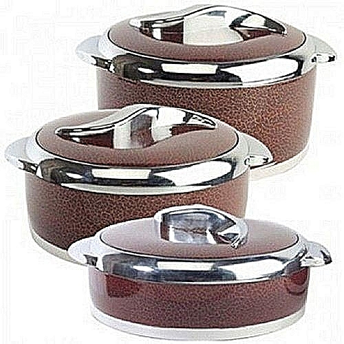 Insulated Hot Pot- Sweet (3pcs)