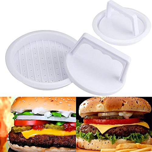 Patty Press Form Hamburger Mold Maker Round Meat Mince BBQ