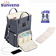 a80976224aed9 Fashion Mummy Maternity Diaper Bag Nursing Bag Designer Baby Bag Baby Care Nappy  Backpack