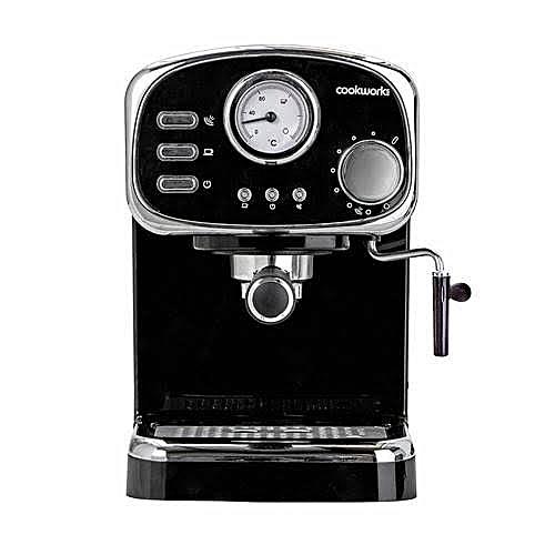 15 Bar Pressure Double Espresso And Cappuccino Machine