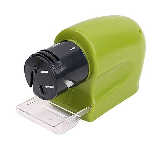 Handy Electric Kn*fe Sharpener Carbon Steel Multi-functional Precision Battery Powered Sharpening Di