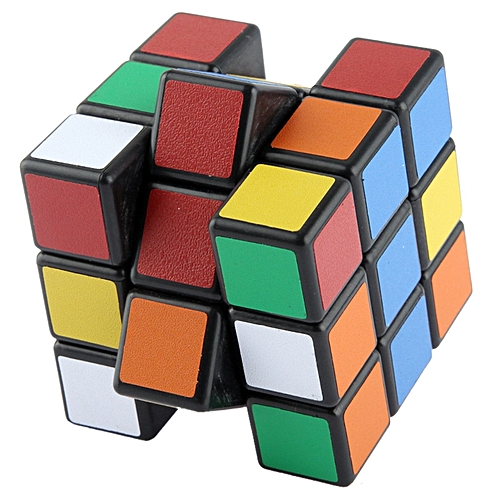 53mm Six-Color Square 3 X 3 X 3 Magic Cube