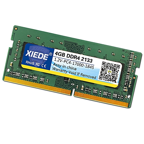 XIEDE DDR4 2133MHz 4GB 17000Hz Memory RAM Module For Laptop