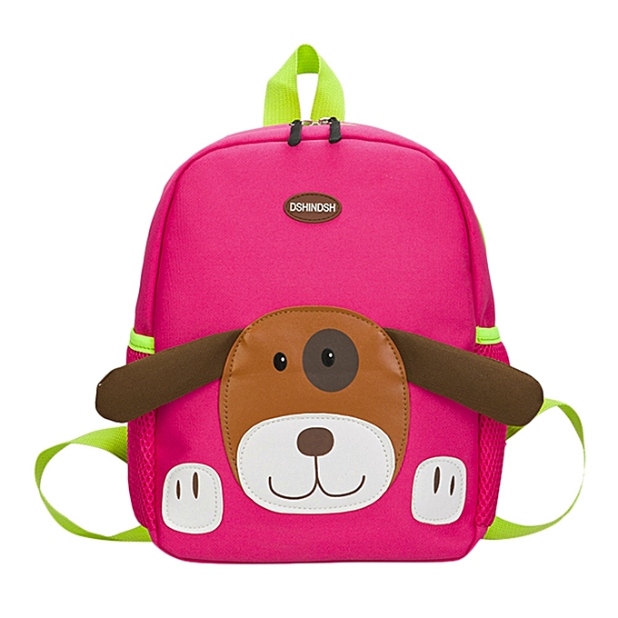 cc774e8dd893 Baby Boys Girls Kids Bag Dog Pattern Cartoon Backpack Toddler School Bags