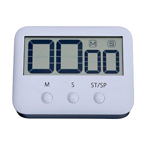 Pocket Digital Timer Large LCD Screen Countdown Timer Cooking Clock Alarm For Kitchen Back Stand Kitchen Timer