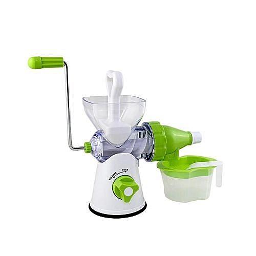 Manual Juicer - White/Green