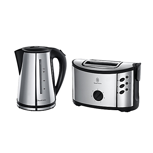 Oxford Twin Pack Regent Kettle + 2-Slice Toaster 14816/H