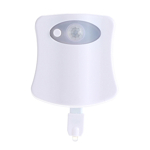 Smart Toilet Night Light LED With 8 Color Changing Battery Operated Washroom
