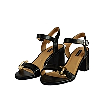 bf0deacfd85 Buy COLOR BLOCK Heeled Sandals Online