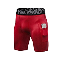 Men's Compression Fitness Sports Cool Running Shorts for sale  Nigeria