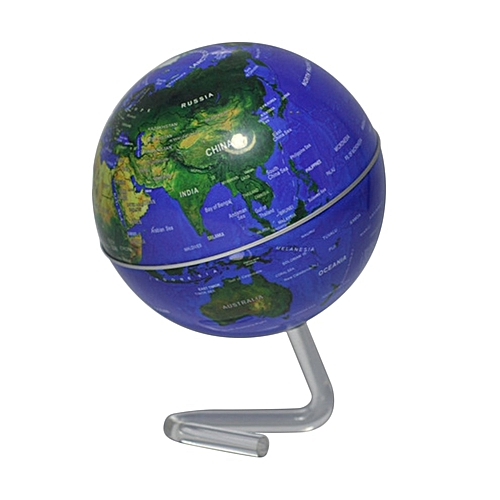Buy kokobuy 4 self rotating geography world globe world map 4 self rotating geography world globe world map ornaments home office decor gumiabroncs Gallery