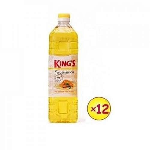 DEVON KING'S Vegetable Cooking Oil - 1 Litre X 12pcs