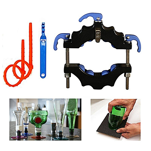 DIY Glass Wine Beer Jar Bottle Cutter Recycle Cutting Tool Kit Art Craft Machine # Bottle Cutter With Accessories
