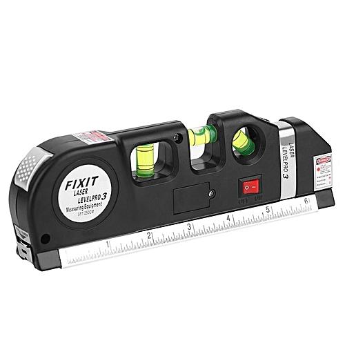 Generic Laser Level Horizon Upright Measure 8ft Aligner Standard And Metric Ruler