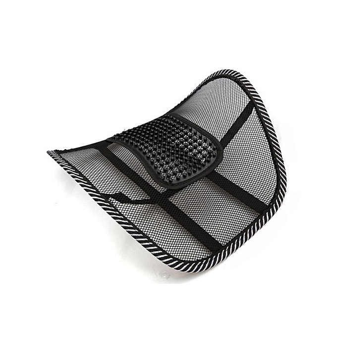 Mesh Cushion Office Chair & Car Seat Lumbar Back Support