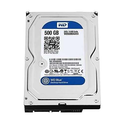 Western Digital - Desktop Hard Drive SATA - 500GB
