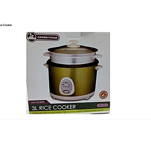 Rice Cooker - 3 Liters