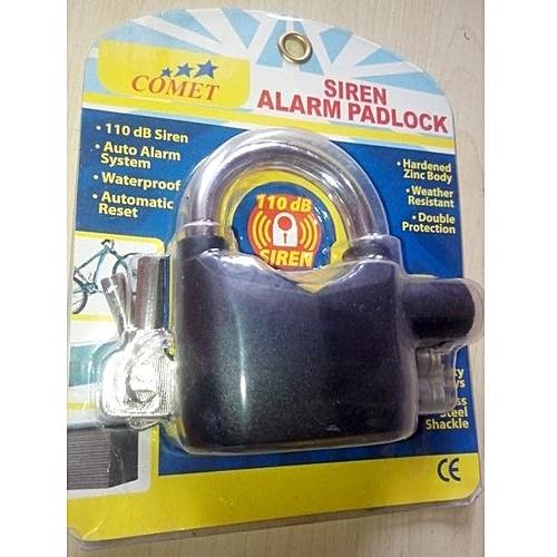 Siren Alarm Padlock