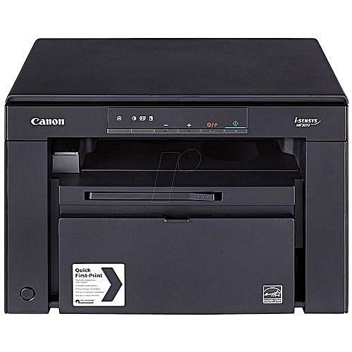 I-SENSYS MF3010 LaserJet Multifunction Printer - Black
